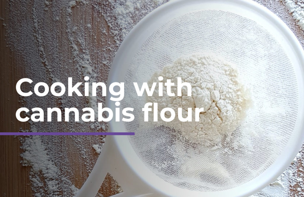 Cooking with cannabis flour
