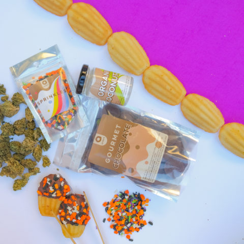 Halloween Infused Chocolate Edible Kit
